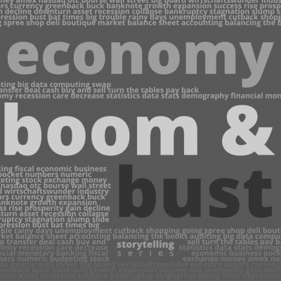 Economy Boom and Bust cycle